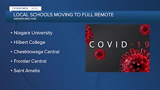 COVID cases forcing some schools back into remote learning