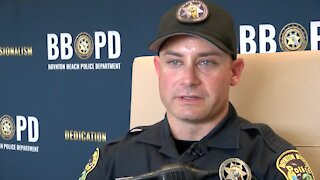 Boynton Beach police officer honored for paying veteran's water bill