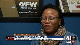 'Still Serving' campaign
