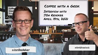 Coffee with a Geek Interview with Jonathan Redeker