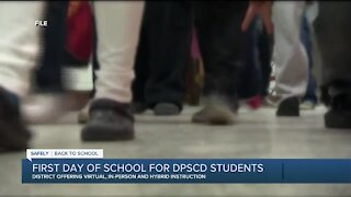 DPSCD students back in class
