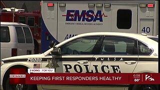 Keeping first responders healthy
