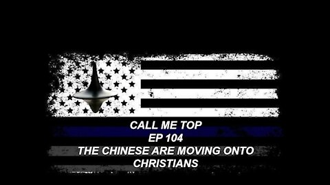 THE CHINESE ARE MOVING ONTO CHRISTIANS AND BLM HAS DEMANDS