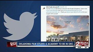 Oklahoma film studio and academy to be in Oklahoma City