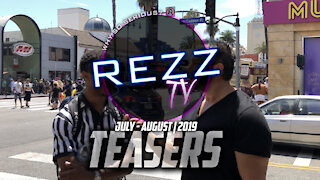 Rezz Teasers | July - August 2019