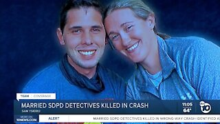 Married SDPD detectives killed in crash