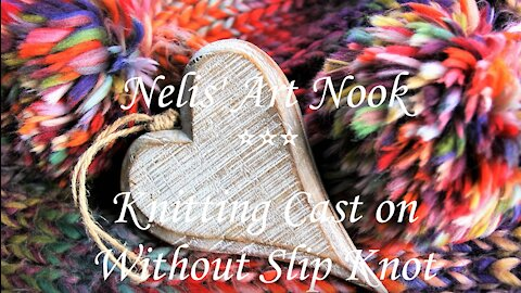 How to Cast on Without Slip Knot for Beginners - Continental knitting(Tutorial #1/3)