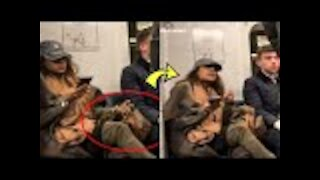 Woman Refuses To Take Bag Off Seat, Gets Taught Lesson