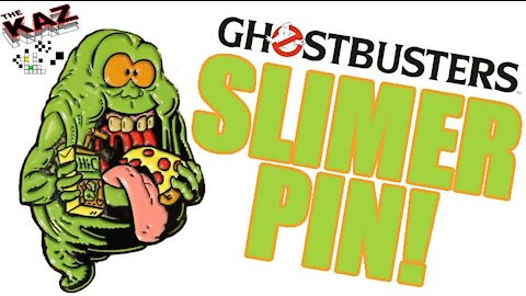 The Real Ghostbusters Slimer Enamel Pin