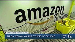 Tulsa woman warns of fake Amazon call