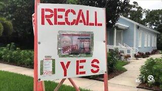 Sebastian city council recall election