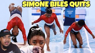 Simone Biles QUITS On Her Team At Tokyo Olympics For Alleged Mental Health Issue