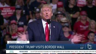 Trump to visit Yuma border wall