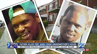Father killed in northeast Baltimore feet from grandmother's front yard