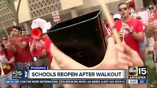 Arizona schools reopen after teacher walkout ends
