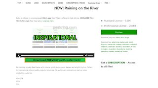 Raining on the River - Royalty Free Music By peakring.com
