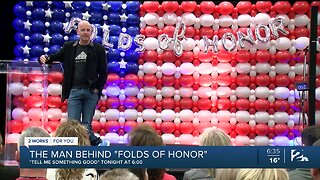 """Tell Me Something Good: The Man Behind """"Folds of Honor"""""""