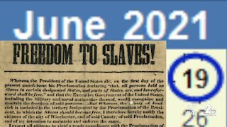 Push to make Juneteenth a paid holiday