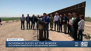 Governor Ducey visits the border