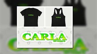 CARLA. MY NAME IS CARLA. SAMER BRASIL (TEEPUBLIC)