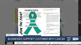 Kern's Kindness: Local businesses rally around customer with cancer
