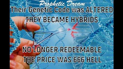 Prophetic Dream 6-6-21 No Longer Human -Please watch!