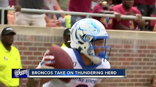 Bryan Harsin holds press conference after Bronco victory
