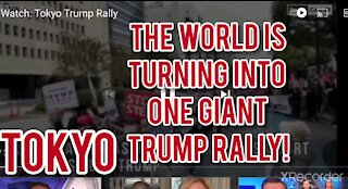 WORLD IS TURNING INTO ONE GIANT TRUMP RALLY!!