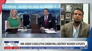 Mir. Biden's Executive order will Destory Women's Sports