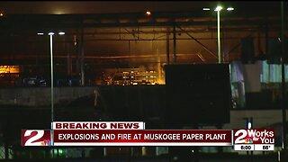 Muskogee plant fire updates