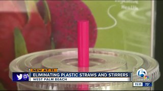Plastic straw ban passes first vote in West Palm Beach