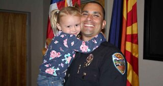 Police Officer Adopts Young Girl He Comforted During Duty