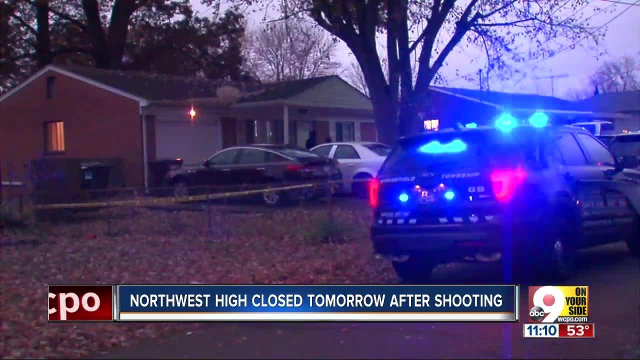 Man shot dead near Northwest High, Friday classes cancelled