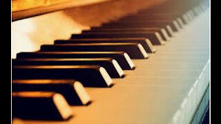 Mozart on piano
