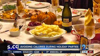 Avoiding calories during holiday parties