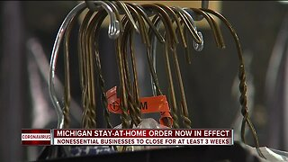 Non-essential businesses to close in Michigan to close for at least 3 weeks