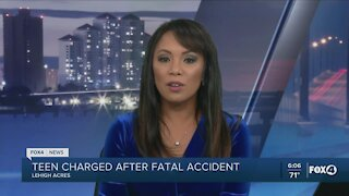 Teen arrested for fatal accident