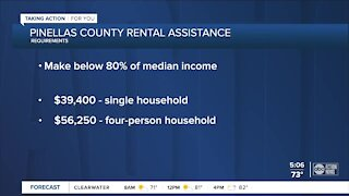 Rental assistance program to launch Wednesday in Pinellas