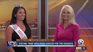 Healthy food options for the holidays
