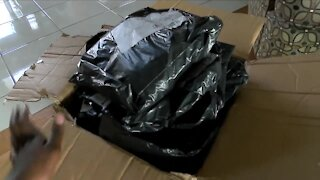 Grand Island woman receives massive package with hundreds of smaller packers inside