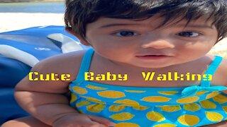 CUTE BABY WALKING