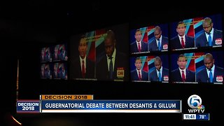 Watch party held at Revolutions in West Palm Beach for Florida governor's debate