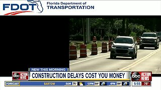 Road construction delays in Tampa Bay is costing you money