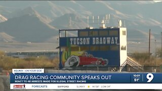 Racing community speaks out following street racing bust