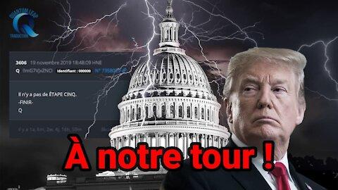 C'EST À NOTRE TOUR, NOUS NE PRENDRONS PLUS DE GANTS !