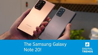 The Samsung Galaxy Note 20 Hands-On!