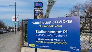 Vaccin contre la COVID-19: L'âge minimum pour prendre rendez-vous a baissé à Montréal