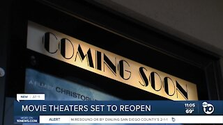 Movie theaters set to reopen