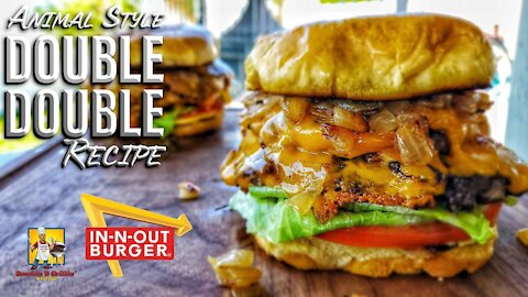 In n Out Double Double Animal Style | Copycat Recipes