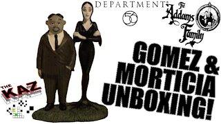 Gomez & Morticia Department 56 Figurines Unboxing